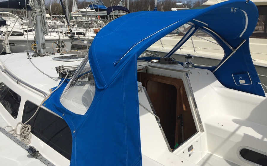 Marine Sewing Ltd  - Boat top canvas Fabrication in Toronto